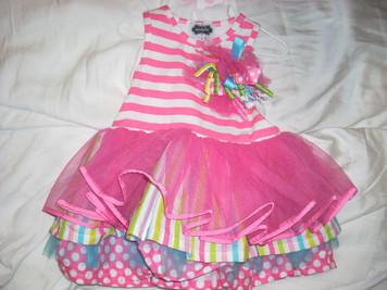 Tierred Birthday Party Dress