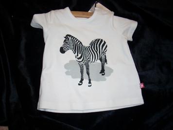 White Zebra T Shirt 6mo