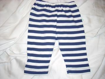 Primary Navy/White Stripe Pant 3 m0
