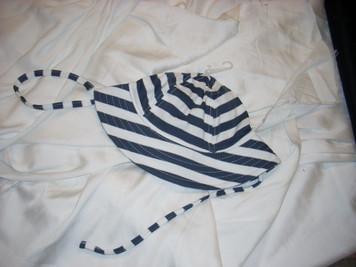 Primary Stripes Sun Hat 6 mo