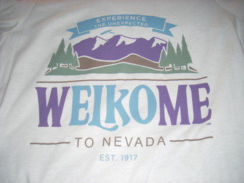 Adult Woman's Welkome to Nevada T Shirt