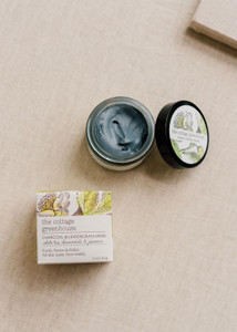 The Cottage Greenhouse Charcoal & Lemongrass Mask