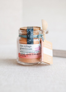 The Cottage Greenhouse Moroccan Red Clay Mask