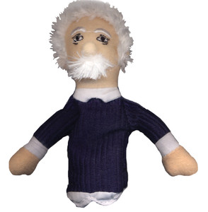 Albert Einstein Finger Puppet