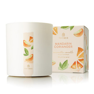 Thymes Mandarin Coriander Candle