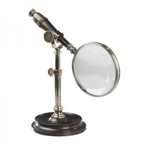 Magnifying Glass w/Stand Bronzed