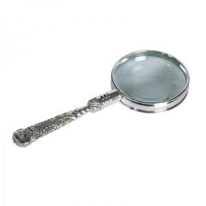 Rococo Magnifier Silver