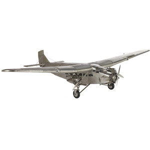 Ford Trimotor w/Stand Airplane Model