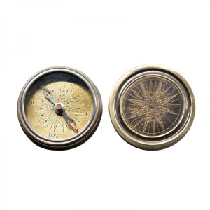Antique Pocket Compass