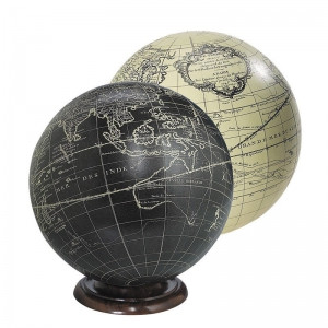 Vaugondy Sphere Black 14cm
