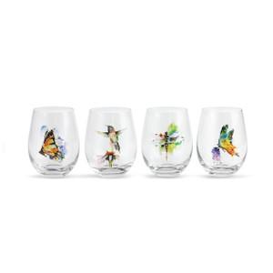 Dean Houser Nature Stemless Wine Glasses