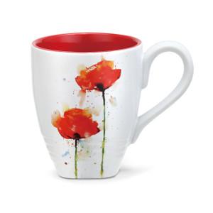Dean Couser Poppy Mug