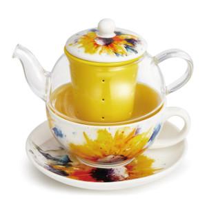 Sunflower Teapot Set