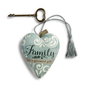 Art Heart Family Life's Greatest Gift