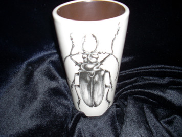 Laura Zindel Stag Beetle Tumbler