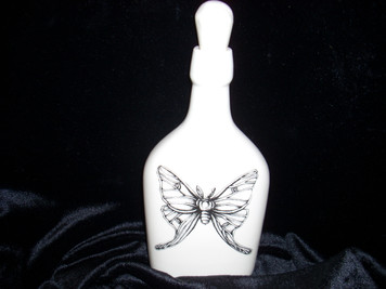 Laura Zindel Luna Moth Bottle