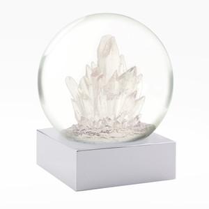 Crystals Snow Globe