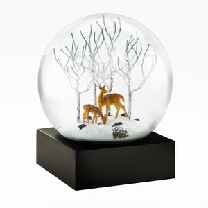 Deer Aspens Snow Globe