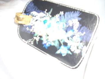 Papaya Freedom Bouquet Luggage Tag