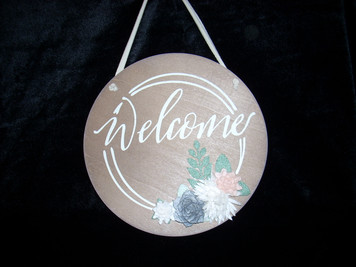 Hanging Decor Welcome