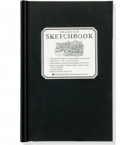 Small Premium Shetchbook