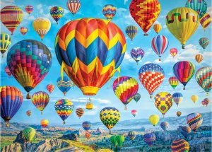 Balloons in Flight Jigsaw Puzzle 1,000