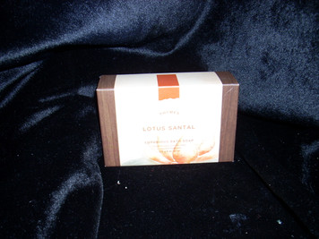 Thymes Lotus Santal Bar Soap