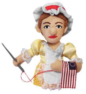 Betsy Ross Finger Puppet