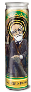 Sigmund Freud Secular Saint Candle