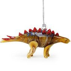 Glassdelight Ornament Stegosaurus