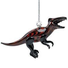 Glassdelight Ornament T Rex