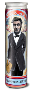 Abraham Lincoln Secular Saint Candle