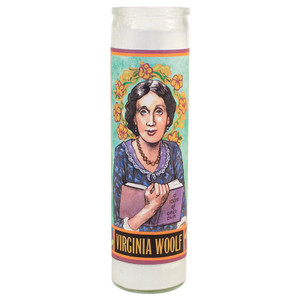 Secular Saints Candle Virginia Woolf Writer
