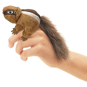 Folkmanis Mini Finger Puppet Chipmunk