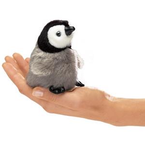 Folkmanis Mini Finger Puppet Emperor Penguin