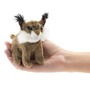 Folkmanis Mini Finger Puppet Bobcat