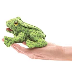 Folkmanis Mini Finger Puppet Frog