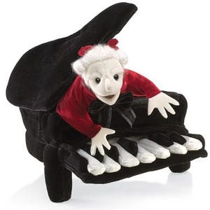 Folkmanis Puppet Mozart in Piano