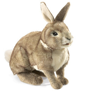 Folkmanis Puppet Cottontail Rabbit