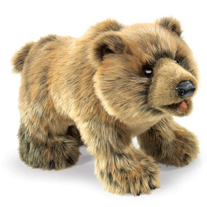 Folkmanis Puppet Grizzly Bear