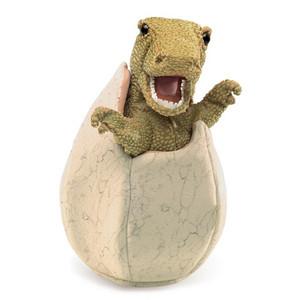 Folkmanis Puppet Dinosaur Egg