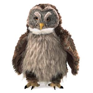 Folkmanis Puppet Owl Hooting