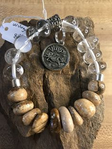 Astrology Stone Bracelet Virgo