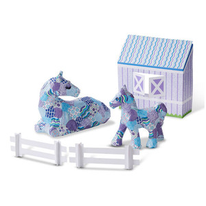 Melissa & Doug Decoupage Horse & Pony