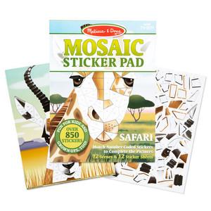 Melissa & Doug Mosaic Sticker Pads- Safari