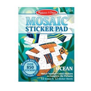 Melissa & Doug Mosaic Stickers Pad- Ocean
