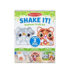 Melissa & Doug Shake It! Beginner Craft Safari Animals