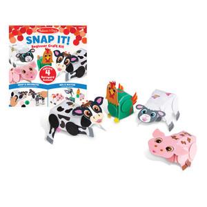 Snap It Beginner Craft Kit Barnyard Animals