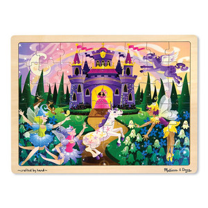 Melissa & Doug Fairy Fantasy Jigsaw Puzzle 48 Pieces
