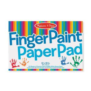 Melissa & Doug Finger Paint Paper Pad